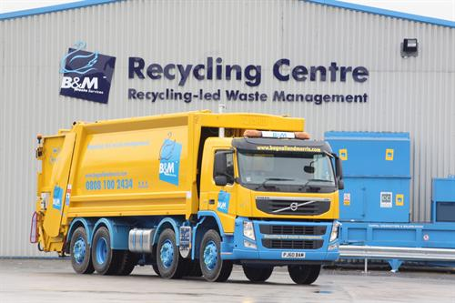 B&M Waste Services receives RoSPA Gold Medal Award 2021 for health and safety achievements.