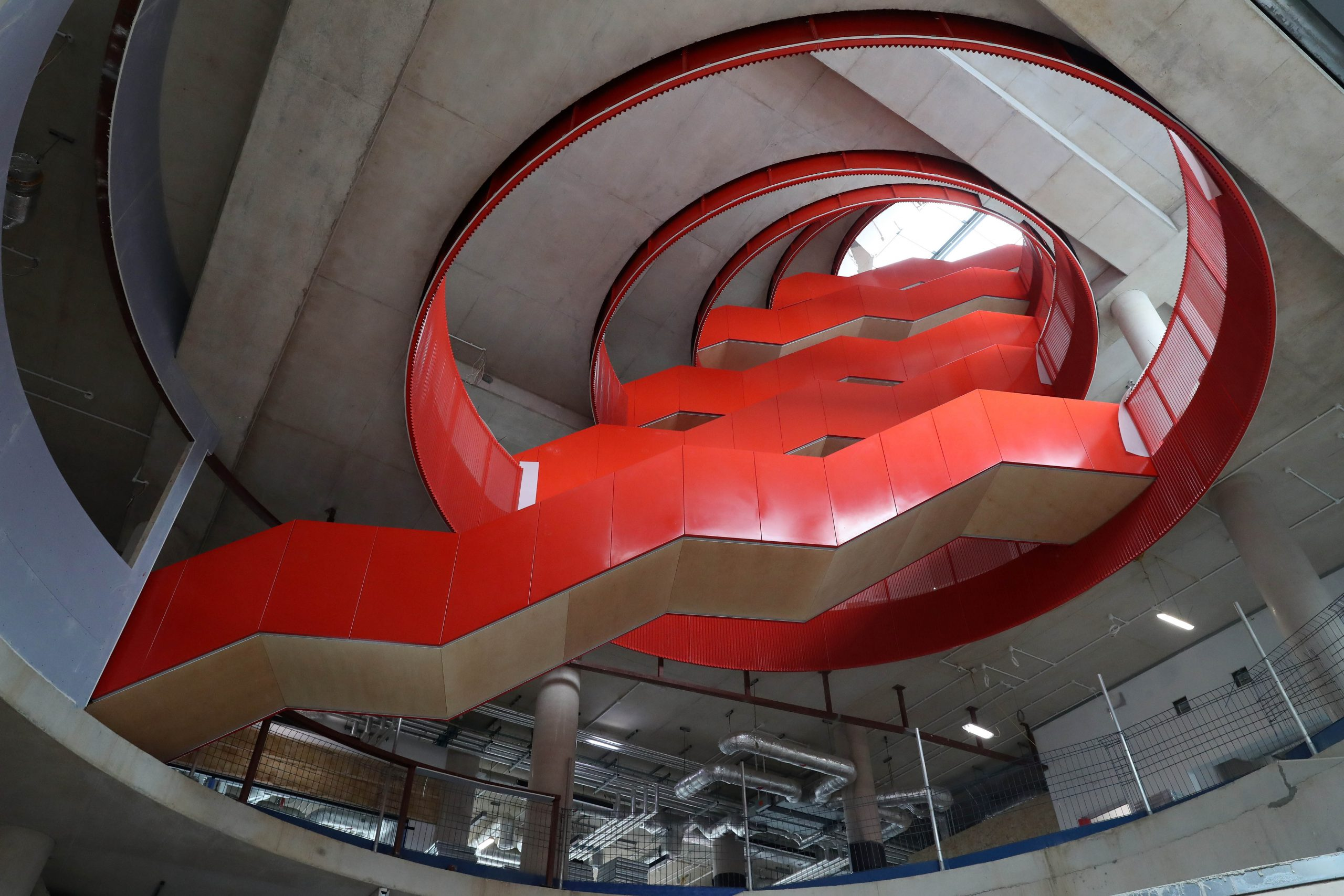 UK's First Oculus Staircase Finally Takes Shape