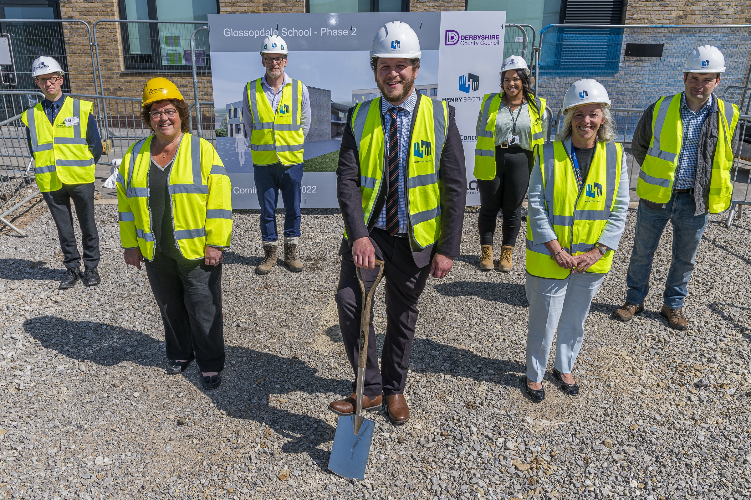 Henry Brothers starts work on Glossopdale School extension