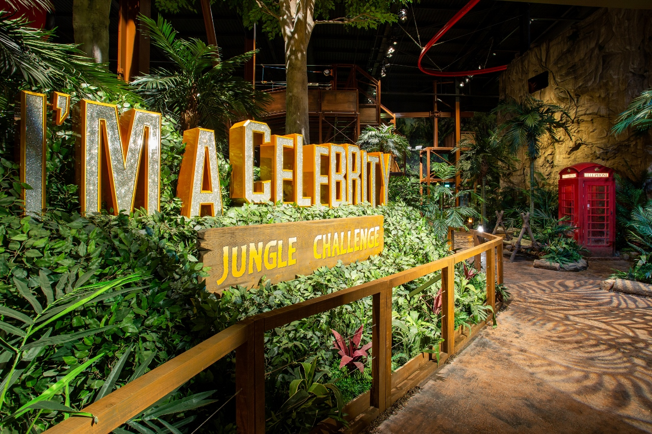 MC CONSTRUCTION SCALES THE HEIGHTS AT NEW I'M A CELEBRITY... JUNGLE CHALLENGE