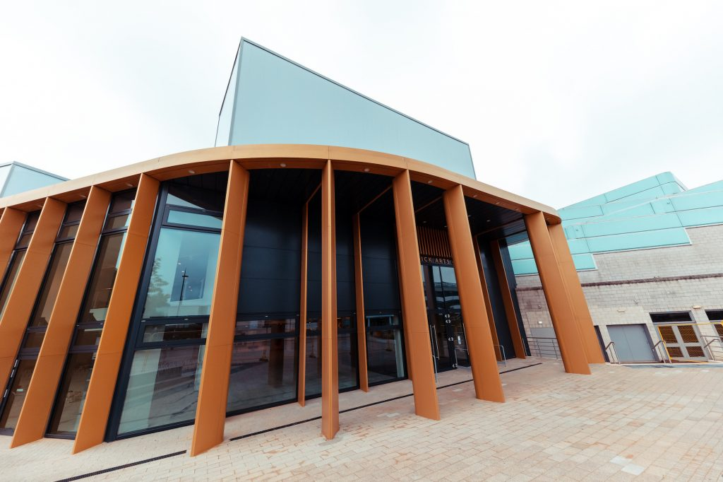 CONSTRUCTION COMPLETES ON NEW WARWICK ARTS CENTRE IN UK'S CITY OF CULTURE