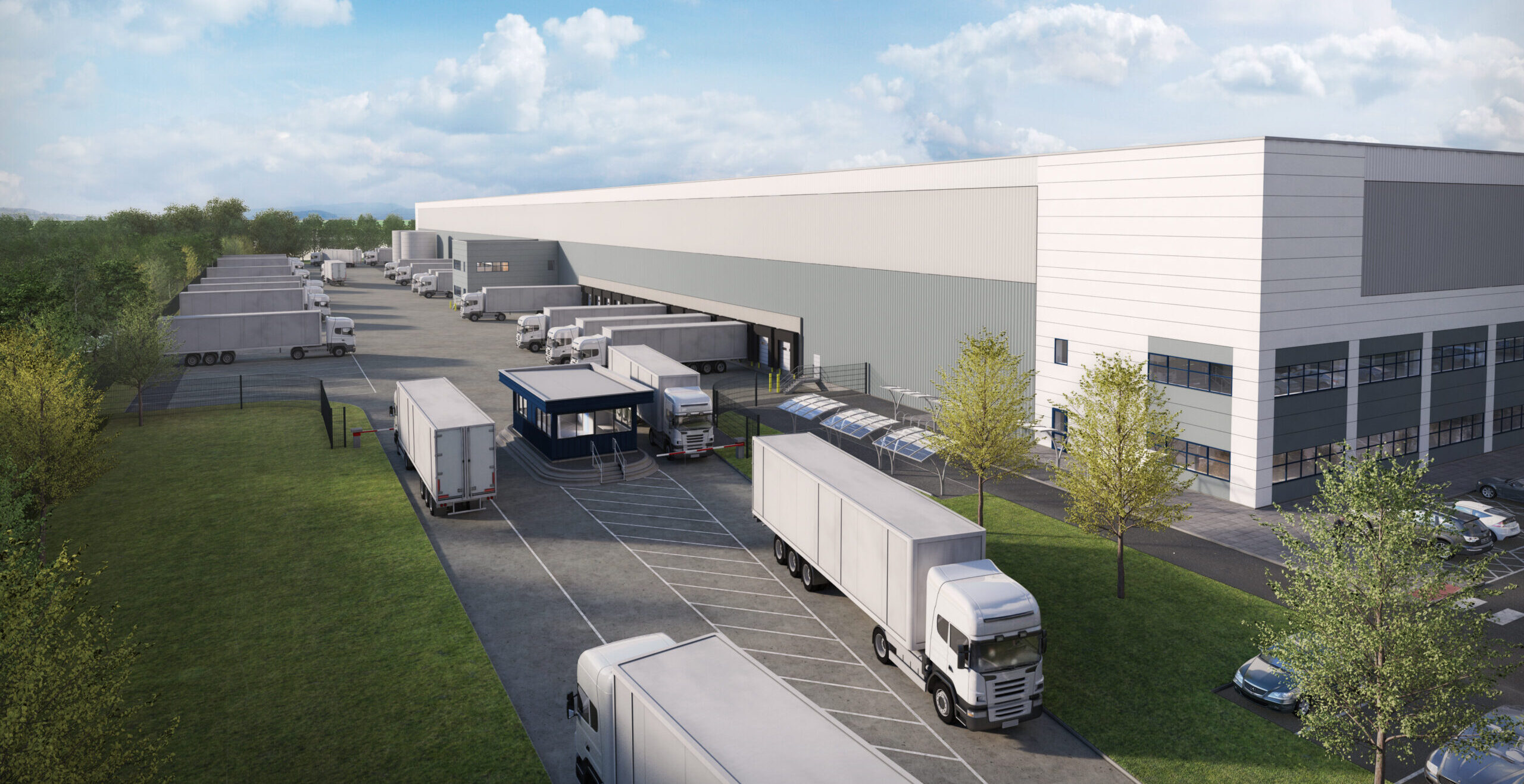 Panattoni underway with 345,414 sq ft speculative logistics facility in the Midlands