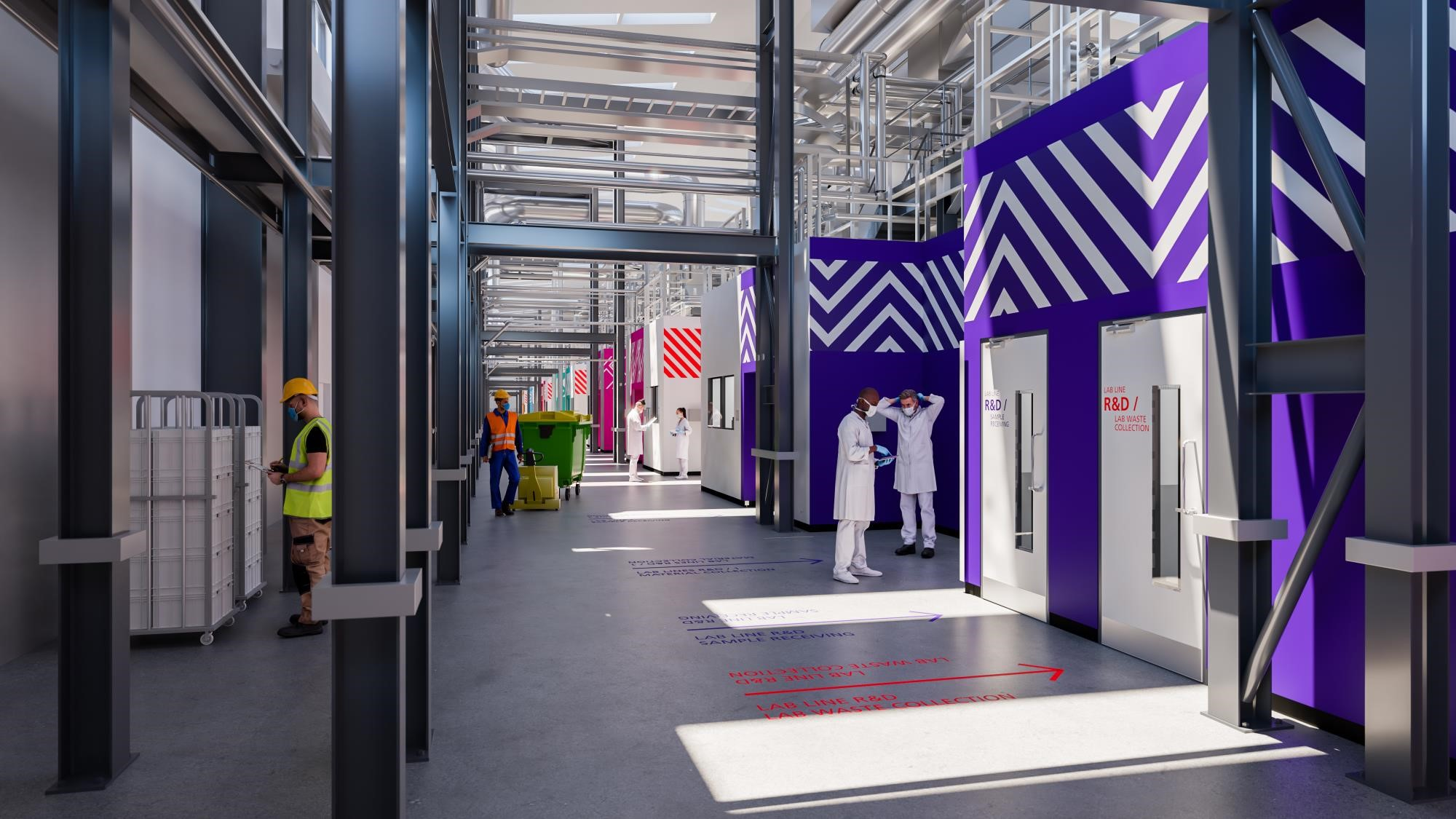 Sodexo wins facilities management contract for Covid-19 test lab in Leamington Spa