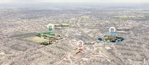 £690m brownfield development in Northwest London to deliver 1,500 homes