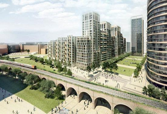 WORK TO BEGIN ON £150M EDUCATION, HOMES & OFFICE PLAN FOR WHITE CITY