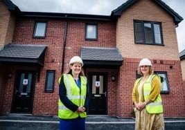 MP visits new affordable homes in Stafford