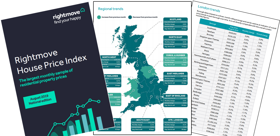 Industry reaction to the latest Rightmove House Price Index