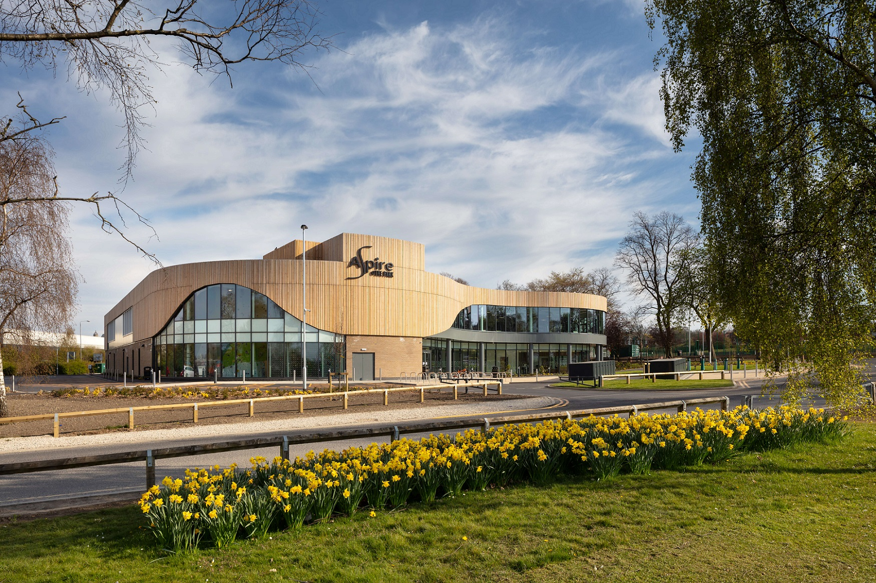 WEST YORKSHIRE GETS MOVING WITH COMPLETED £21M LEISURE CENTRE