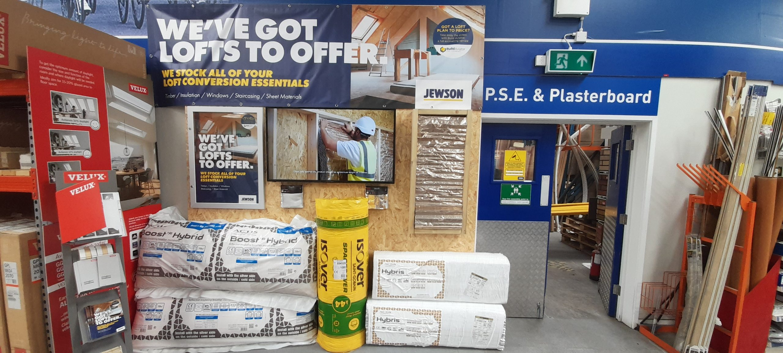 Jewson sees surge in Actis Hybrid sales as loft conversions and extensions take off