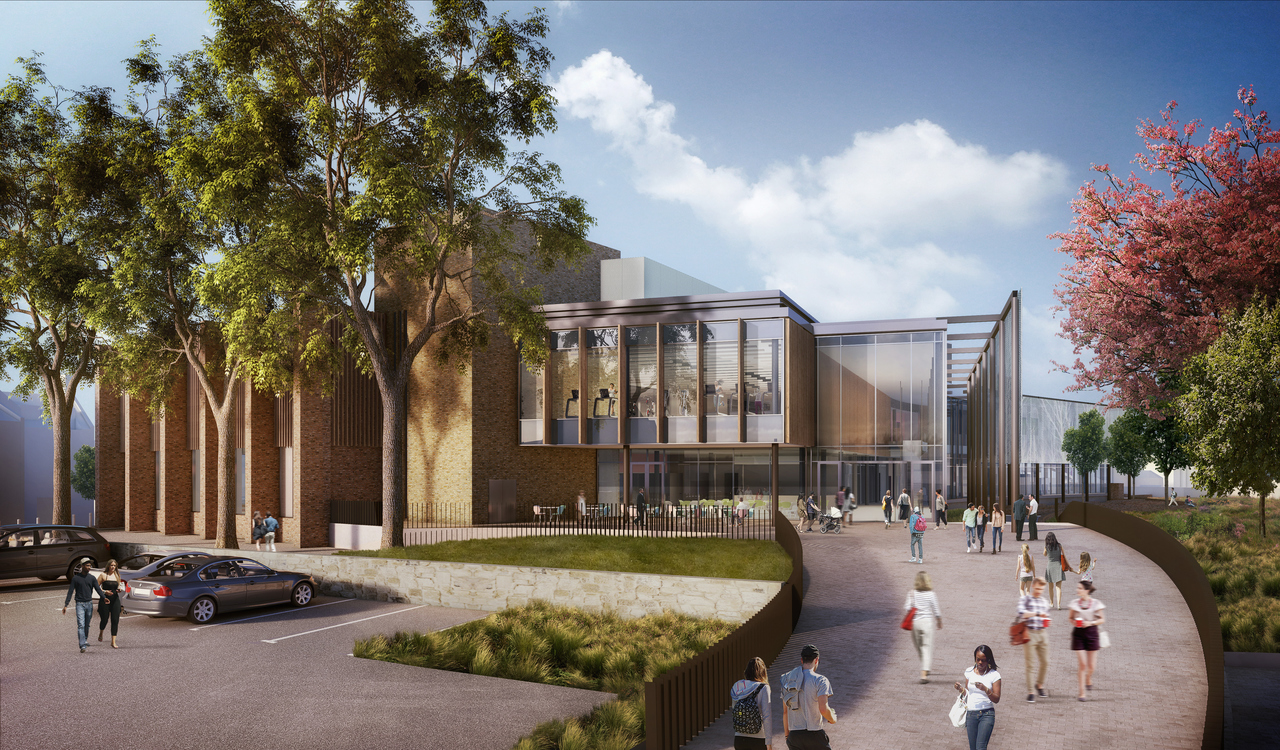 LEISURE MEETS LEARNING IN NEW DESIGNS FOR MORPETH COMMUNITY HUB