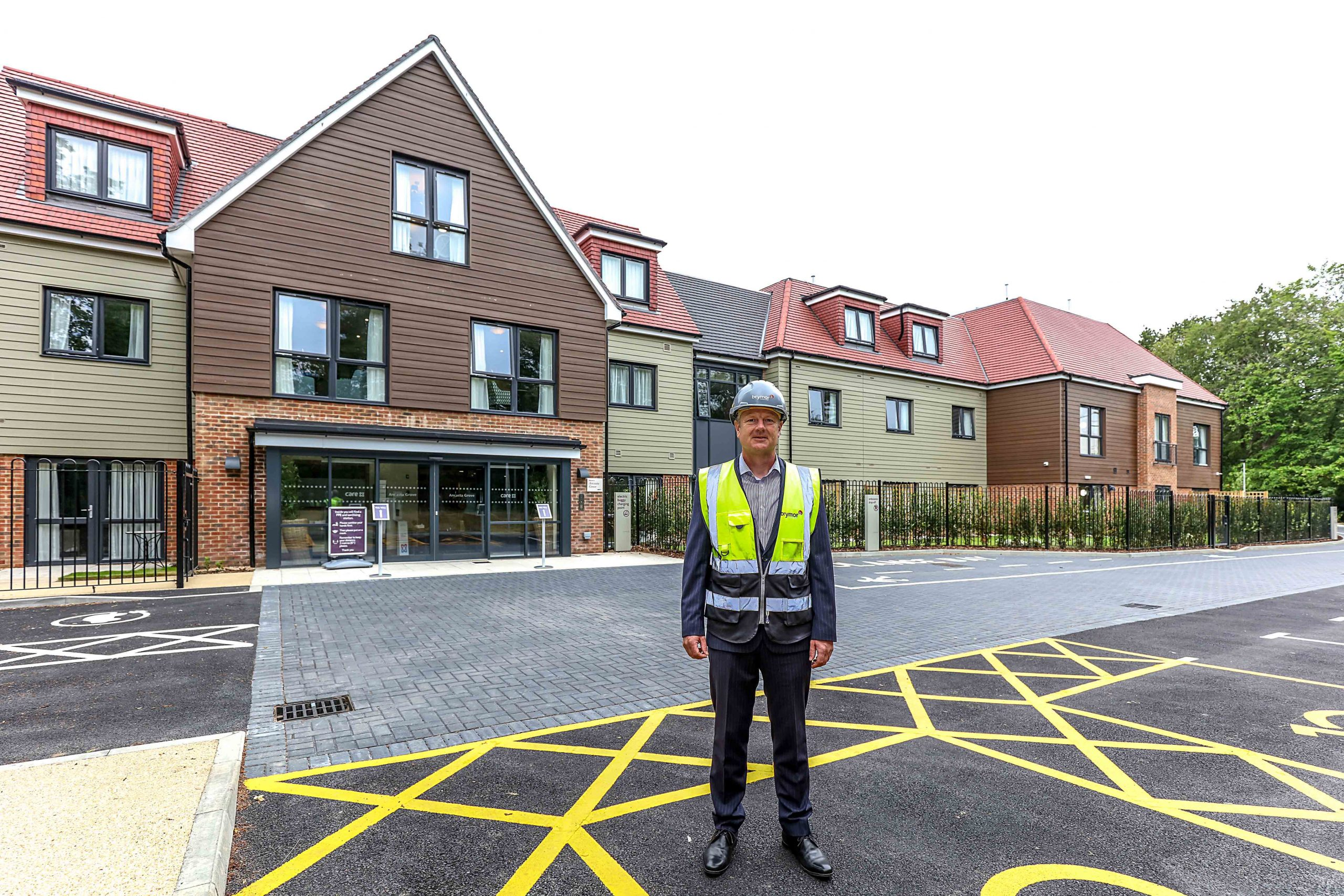 Care home completion is double landmark for Brymor and Care UK