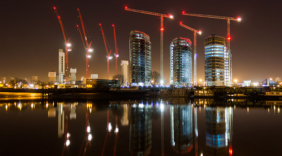 Scotland and London lead the way for new build property sales