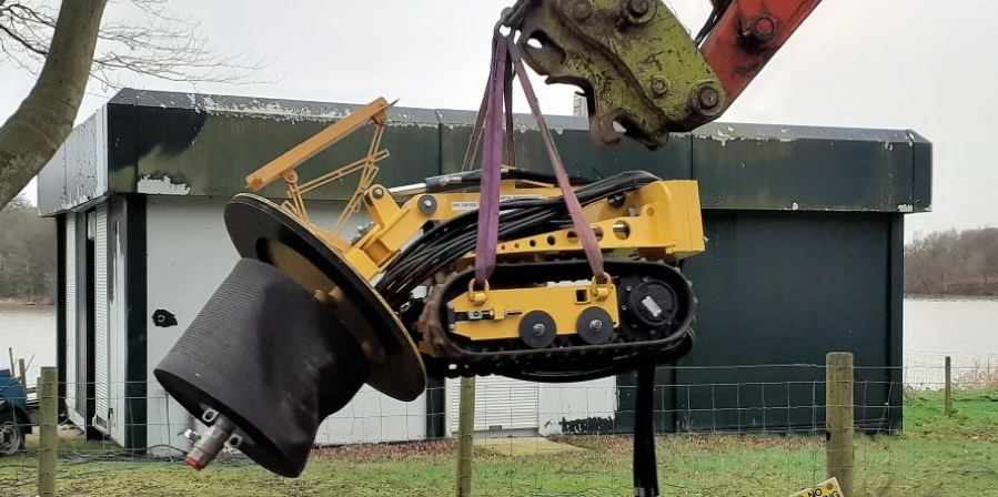 New underwater robot is a game changer for reservoir maintenance
