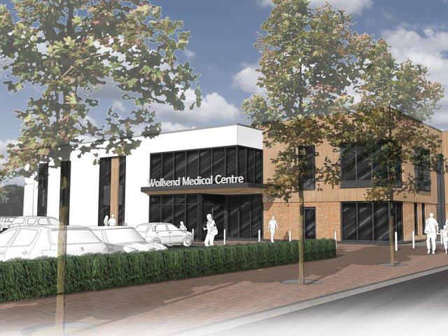 Construction of new £9.5m health centre starts in Wallsend