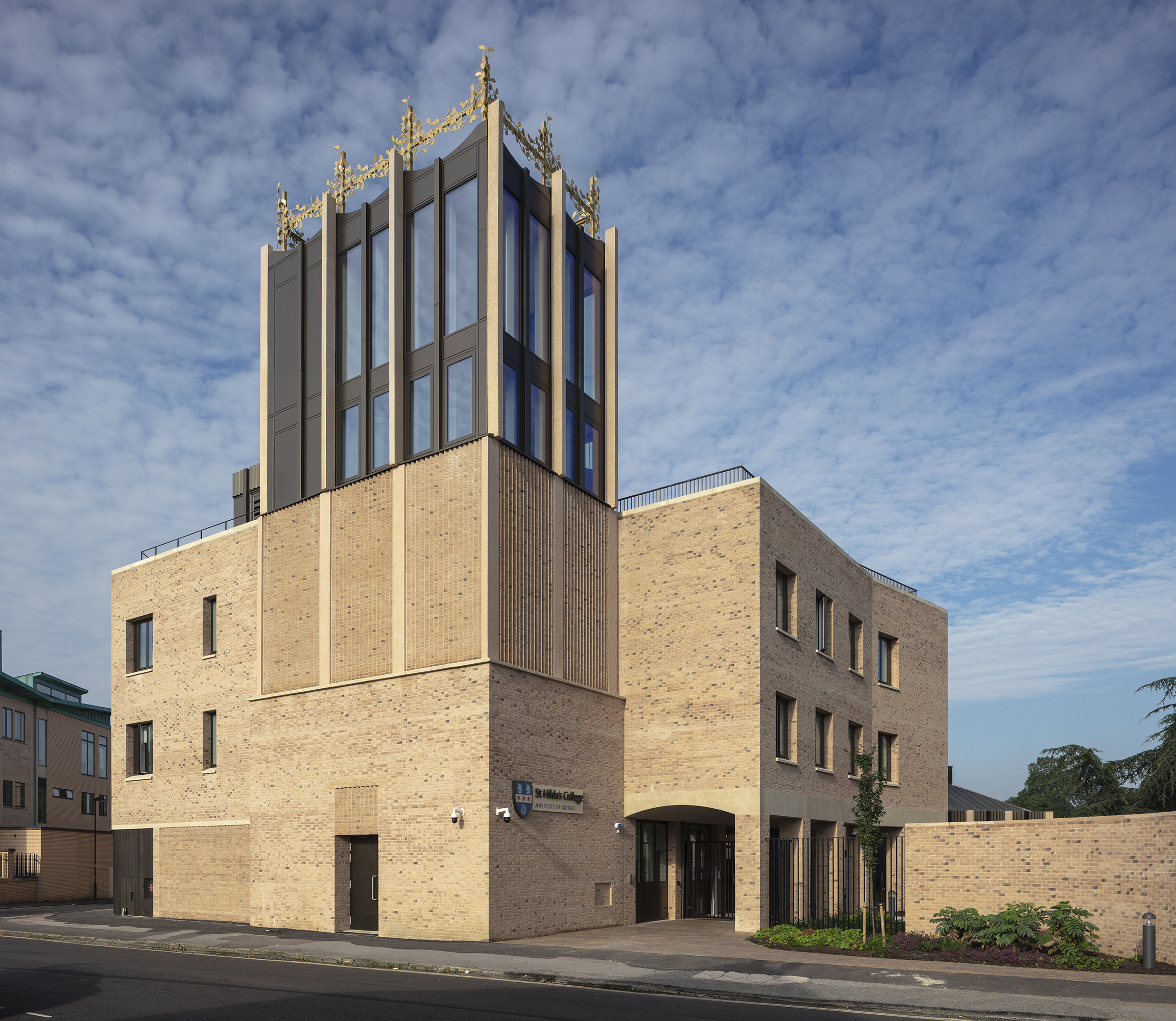 Beard completes work on £20m redevelopment project at St Hilda's College, Oxford