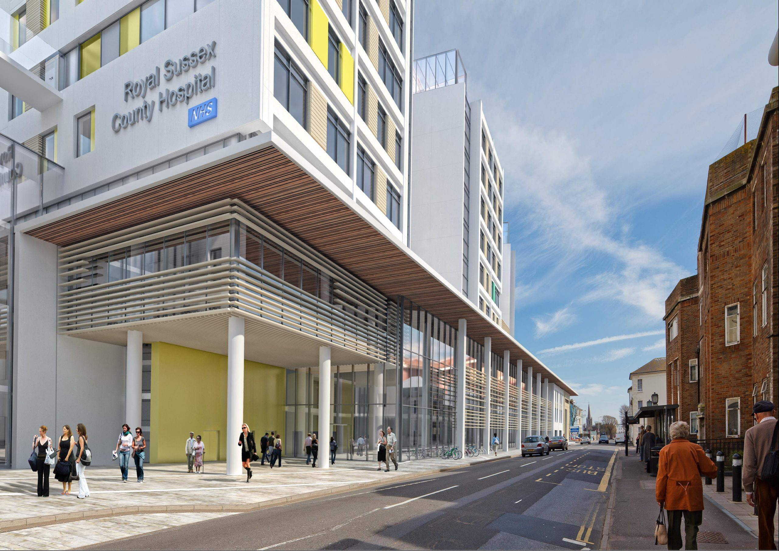 LAING O'ROURKE AWARDS £1.5M FITOUT CONTRACT TO DEANESTOR FOR BRIGHTON 3TS HOSPITAL REDEVELOPMENT