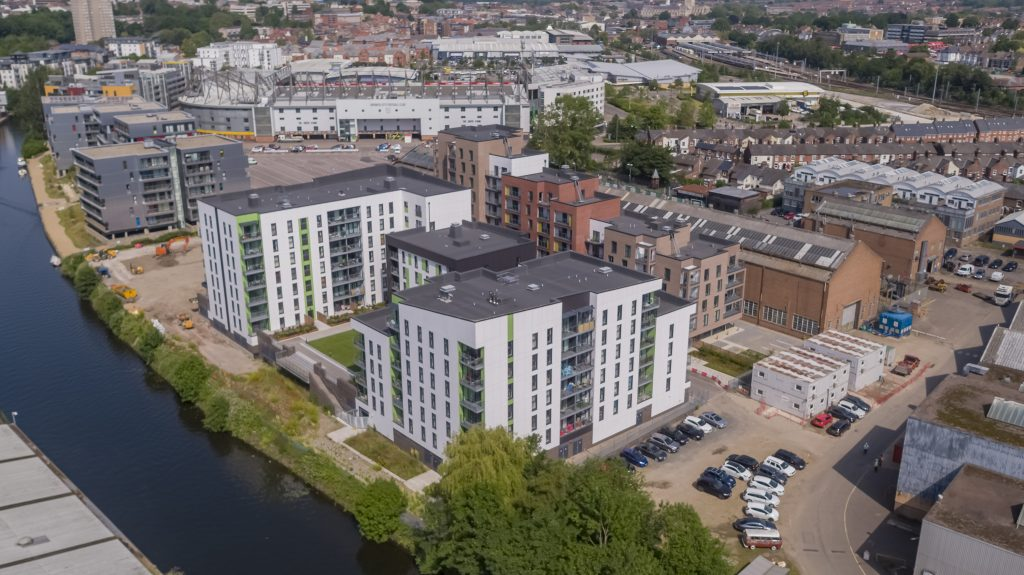Norwich City Centre development moves into its final phase of construction