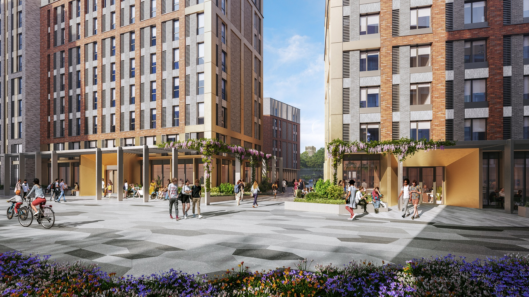 Planning approved for 702-bed student living scheme at The Island Quarter