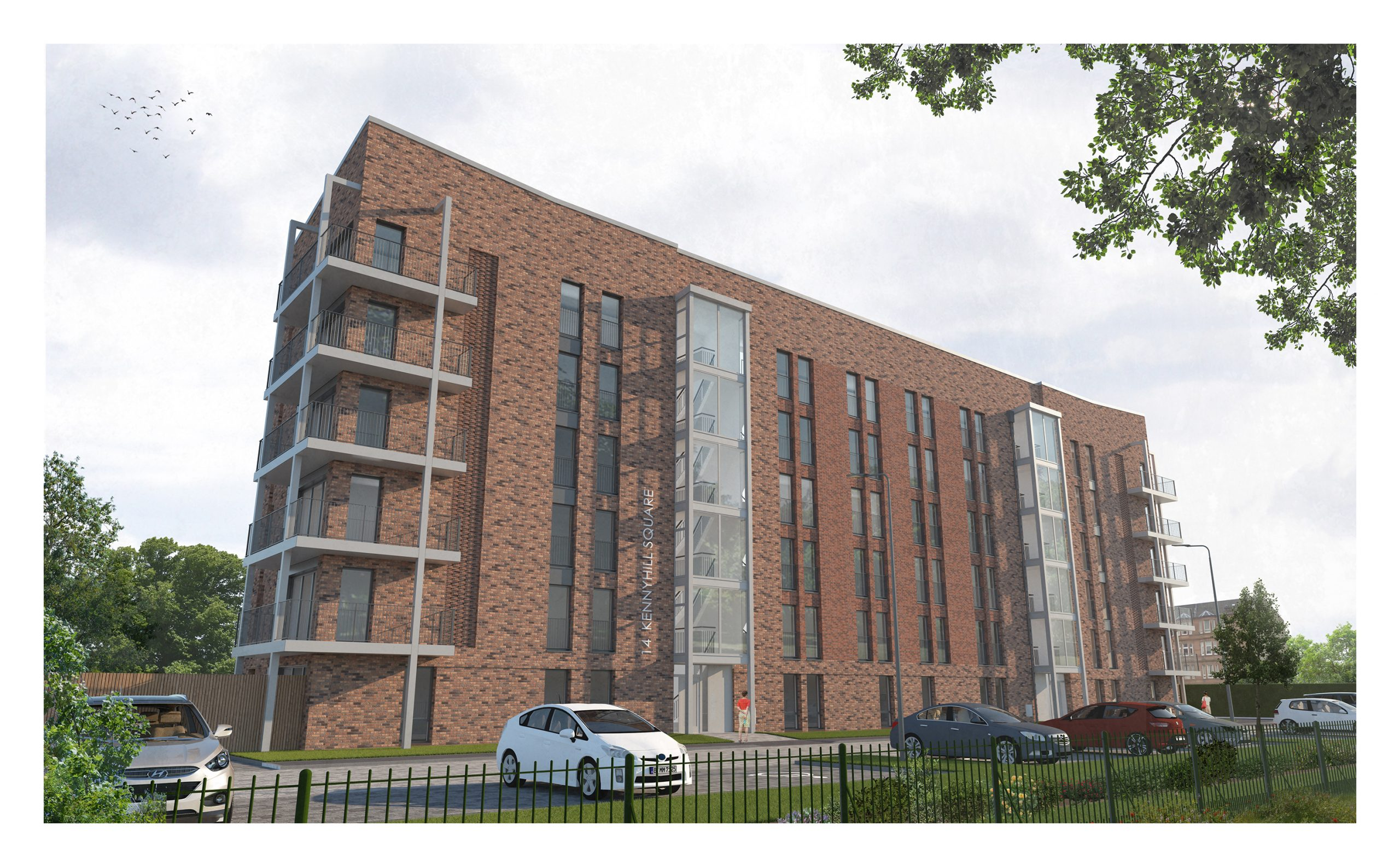 Work set to get underway on two multi-million-pound affordable housing projects in Glasgow