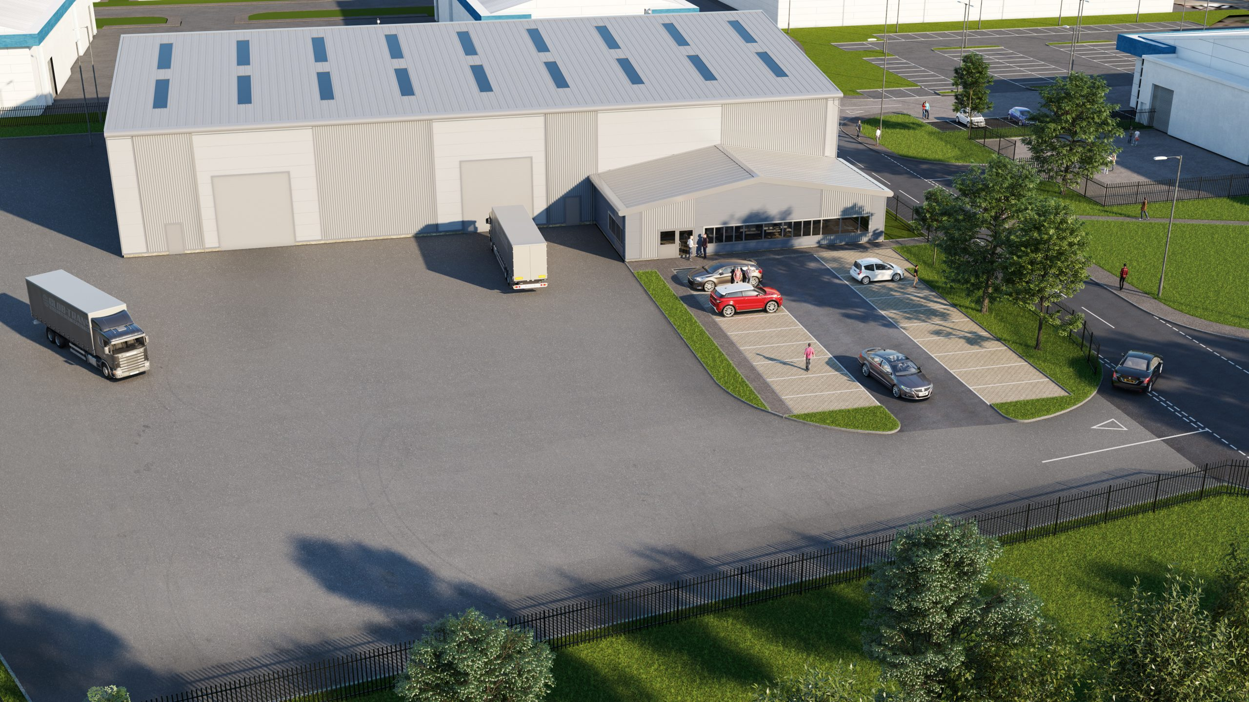 Knight Property Group appoints Clark Contracts as main contractor to deliver next phase at Langlands Commercial Park