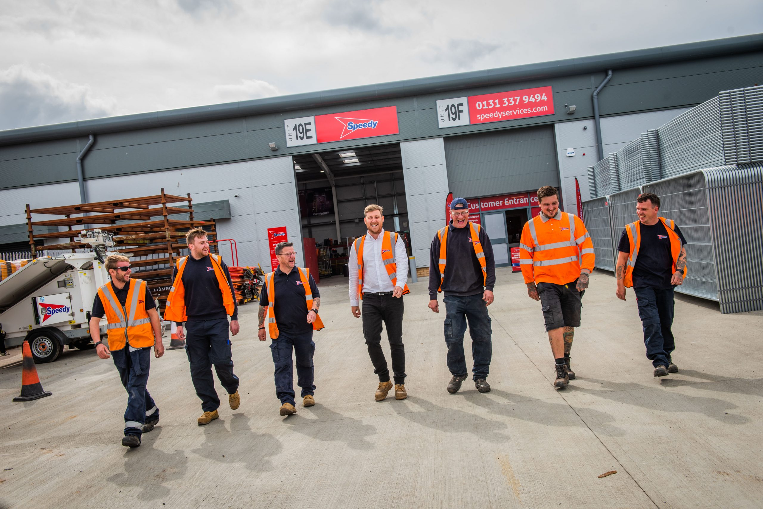 SPEEDY SUPPORTS SCOTTISH CONSTRUCTION WITH TWO NEW SERVICE CENTRES