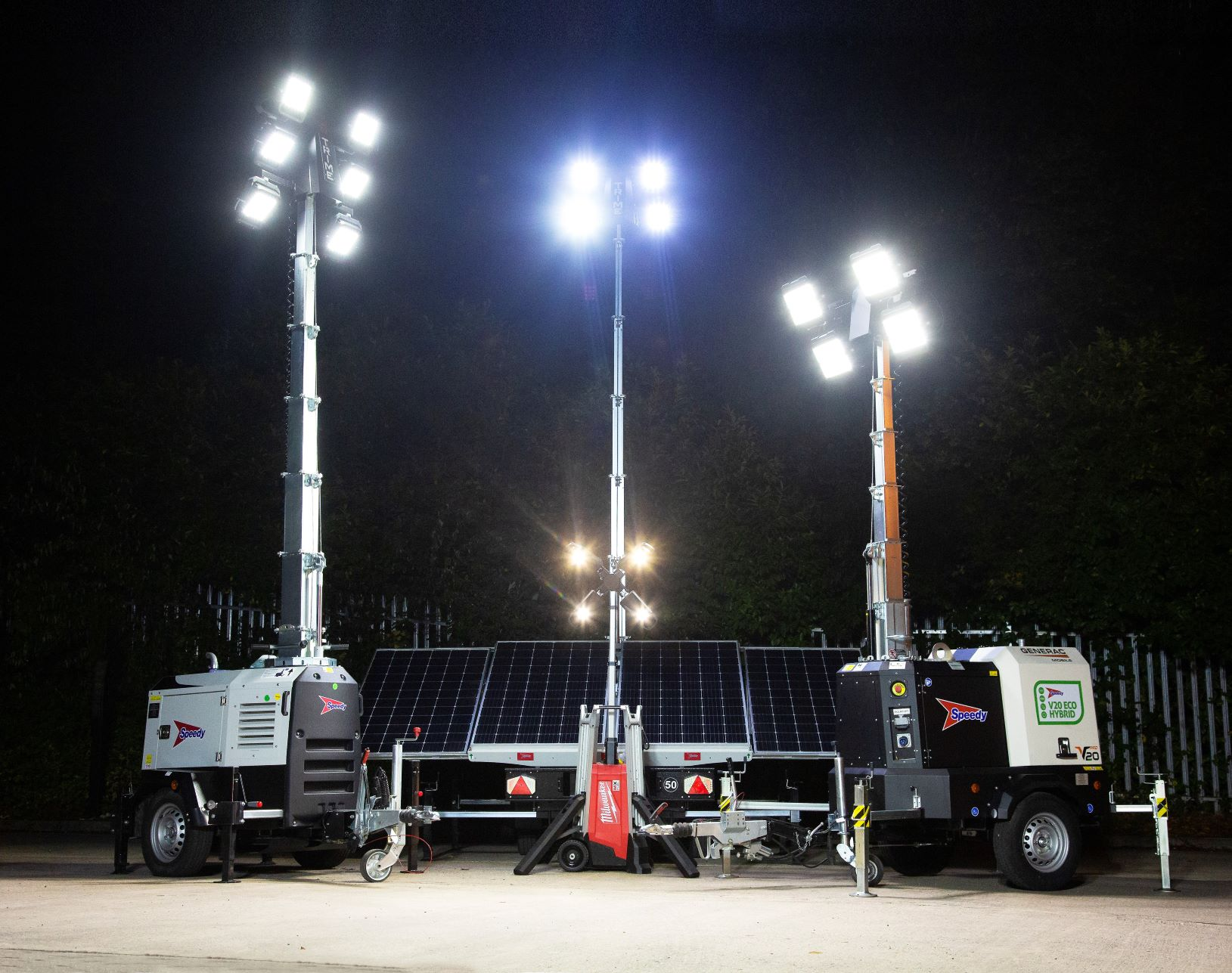 SPEEDY BRINGS INDUSTRY-FIRST ECO HYBRID LIGHTING TOWER TO MARKET