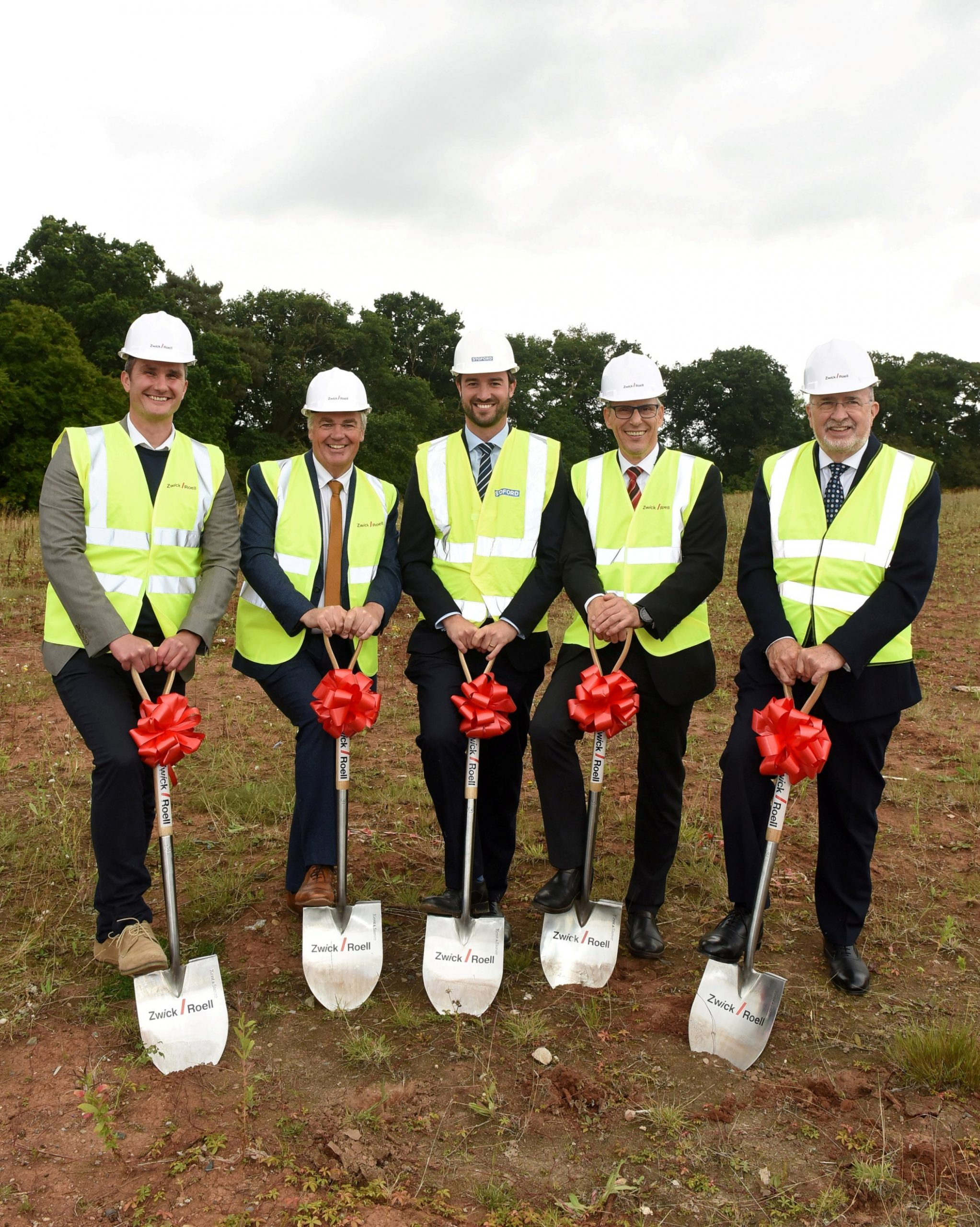 Work begins on new Worcester Six unit for ZwickRoell