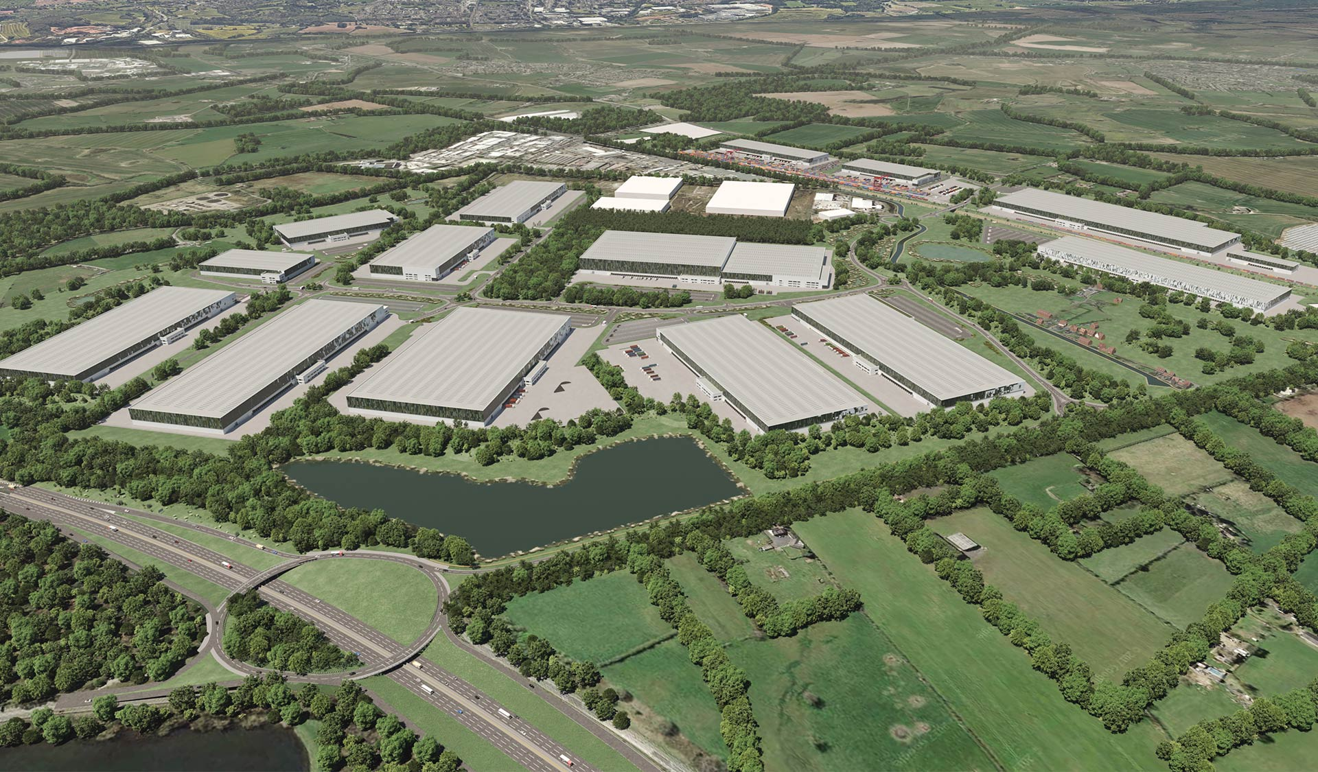 Oxford Properties and Logistics Capital Partners form JV to acquire and develop UK's largest logistics site