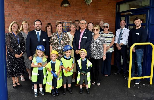 New Extension Creates 90 More Places at Bleak Hill Primary School