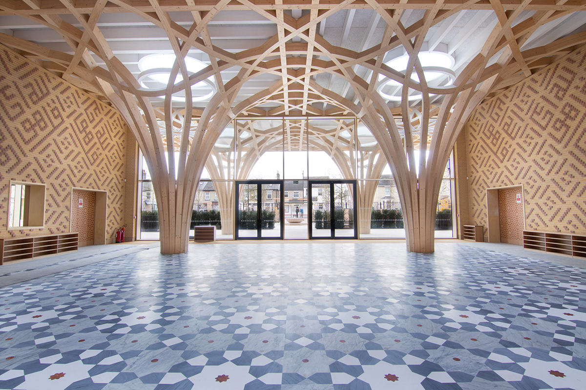 Cambridge Mosque Shortlisted for 2021 Stirling Prize