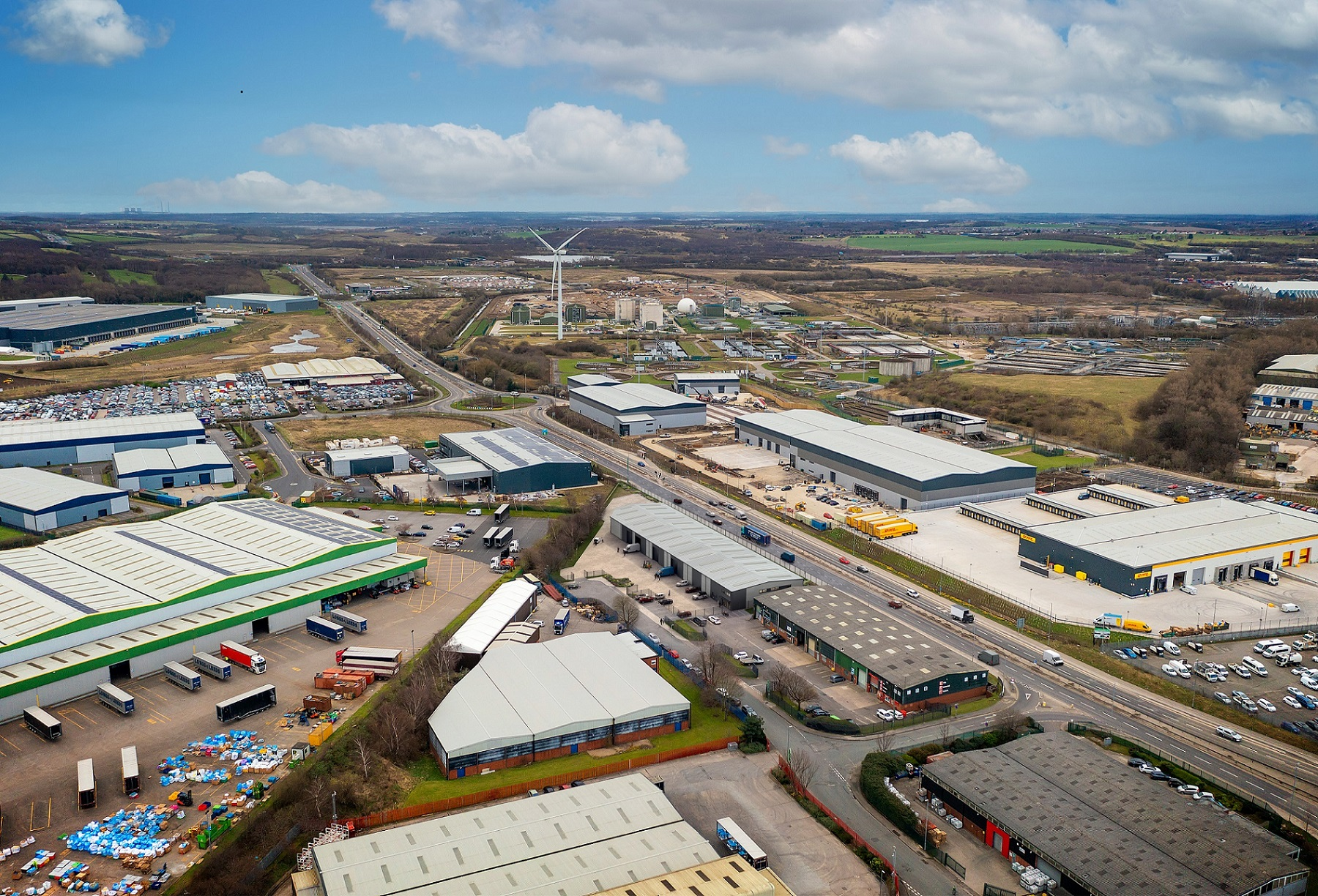 Planning permission approved for extensive warehouse redevelopment at Cross Green, Leeds