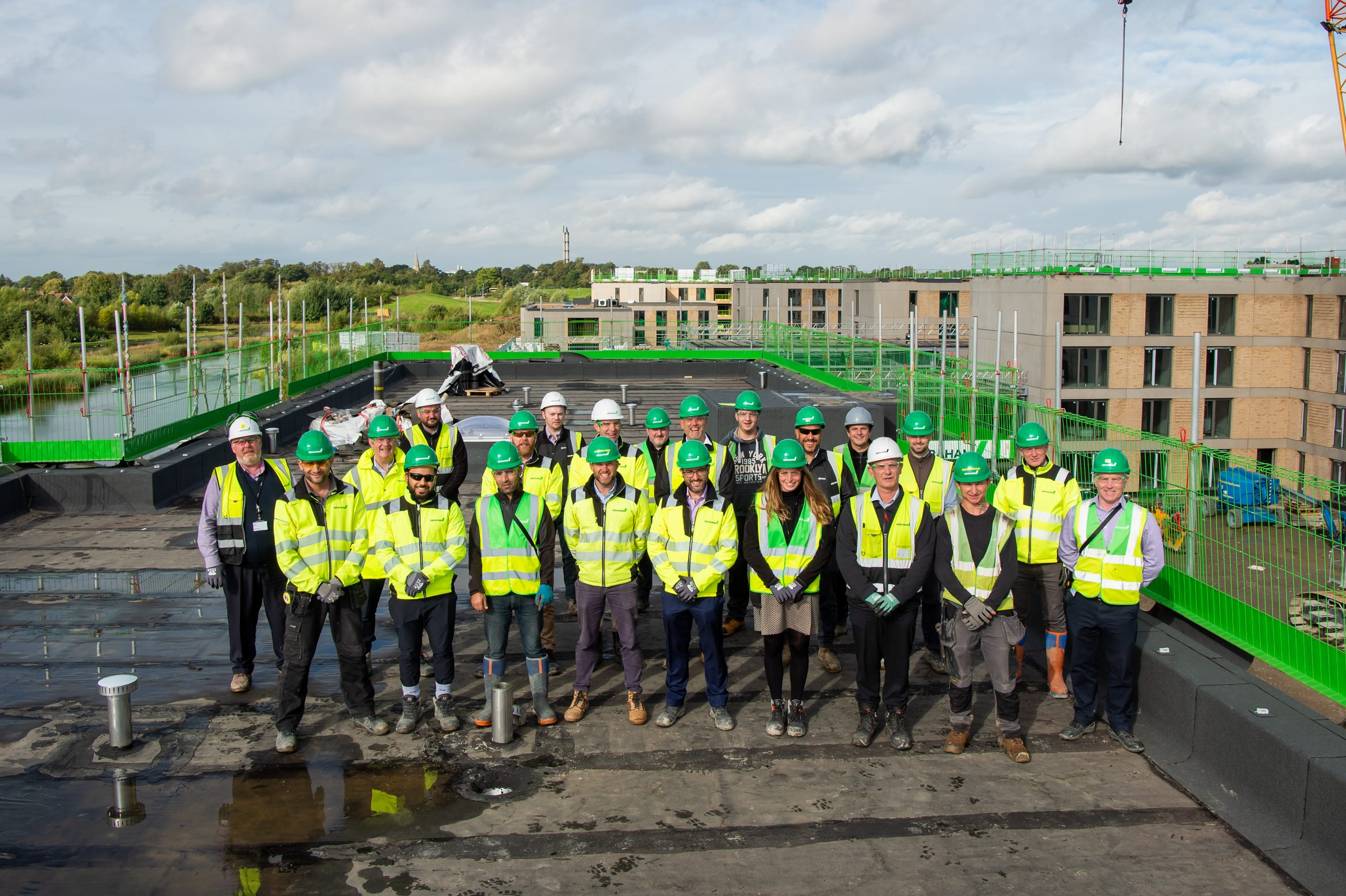 GRAHAM tops out University of York's £130m flagship student resi project