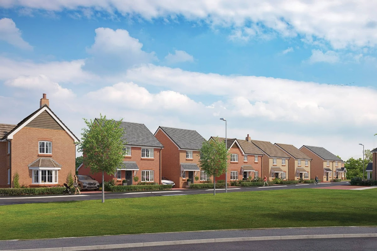 First Glimpse of Bellway Homes' Oxfordshire Poppy Fields